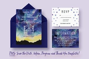 Starry Sky Wedding Suite