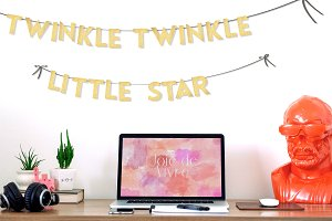 Twinkle Party Decor Garland