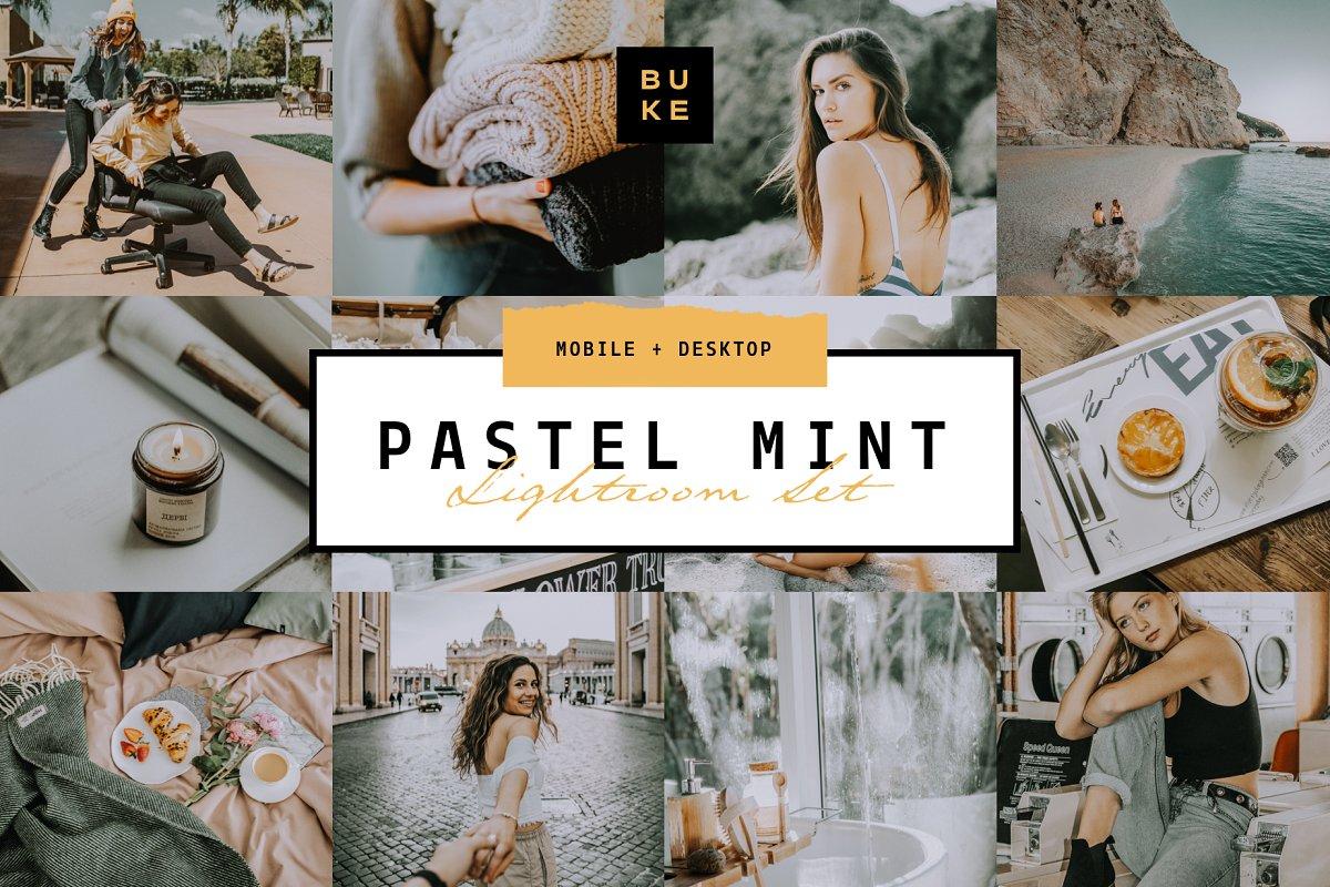 Pastel Mint 4 Lightroom Preset Pack