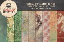 Mermaids Fantasy Papers
