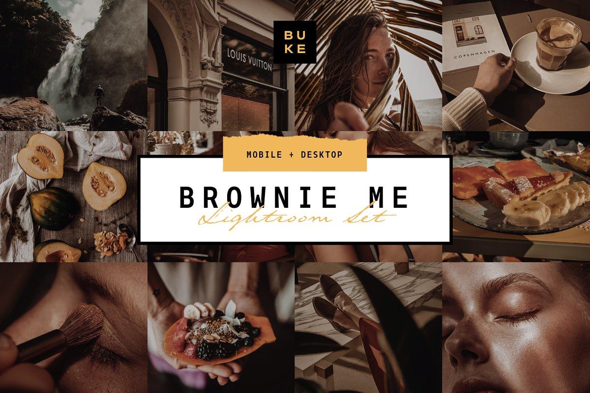 Brownie Me! Luxury Lightroom Preset