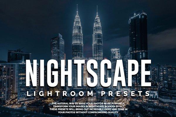 Nightscape Lightroom Presets