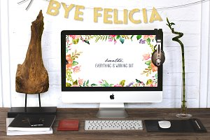 ByeFelicia Decor Garland