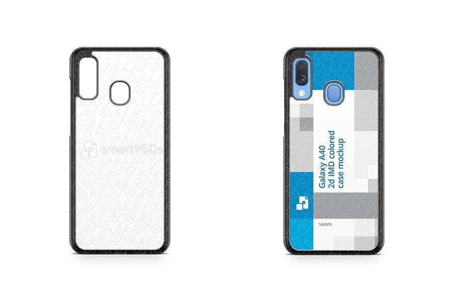 2d PC IMD Colored Phone Case Bundle ~ Product Mockups ~ Creative Market