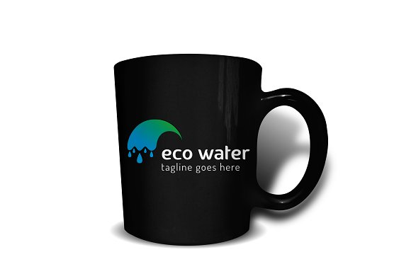 Eco Water Logo in Logo Templates - product preview 2