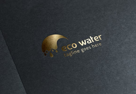 Eco Water Logo in Logo Templates - product preview 5