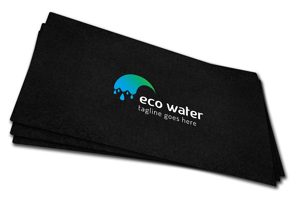 Eco Water Logo in Logo Templates - product preview 6