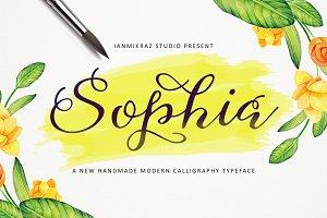 Sophia Script (Intro 30% Off)
