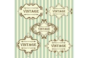 5 Vintage Frames