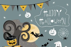 Set traditional elements of Hallowee