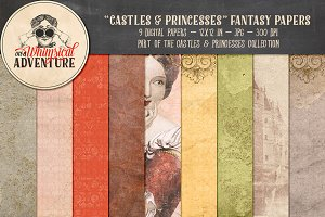 Castles & Princesses Fantasy Papers
