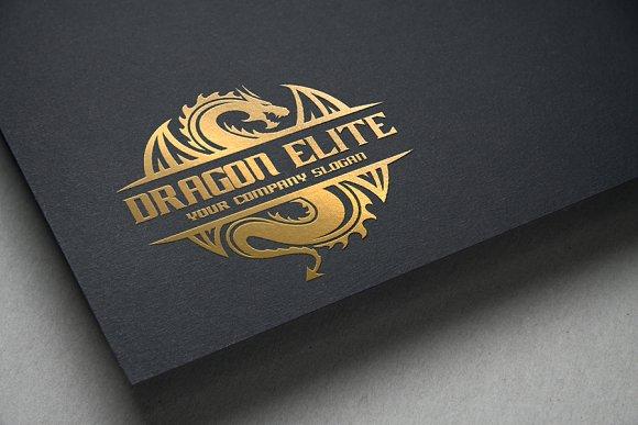 Dragon Elite in Logo Templates