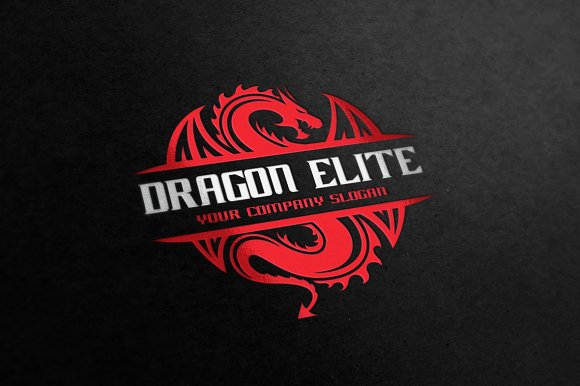 Dragon Elite in Logo Templates - product preview 1