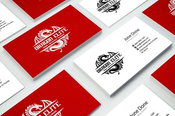 Dragon Elite in Logo Templates - product preview 2