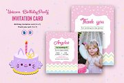 Birthday Party Invitation Card-V1060