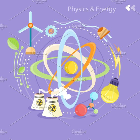Science Physics From: Creative Market