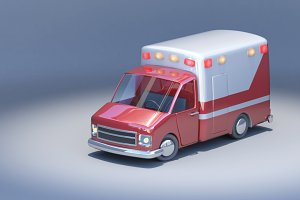 Toycar Ambulance