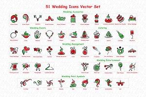 Wedding Graphics Vector Pack