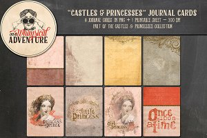 Castles & Princesses Journal Cards