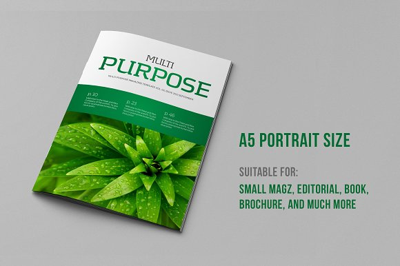 A5 Portrait Template (V.02) - Magazines