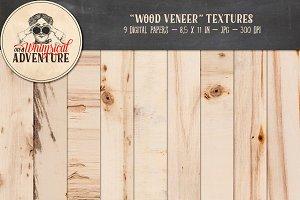 Wood Veneer Textures
