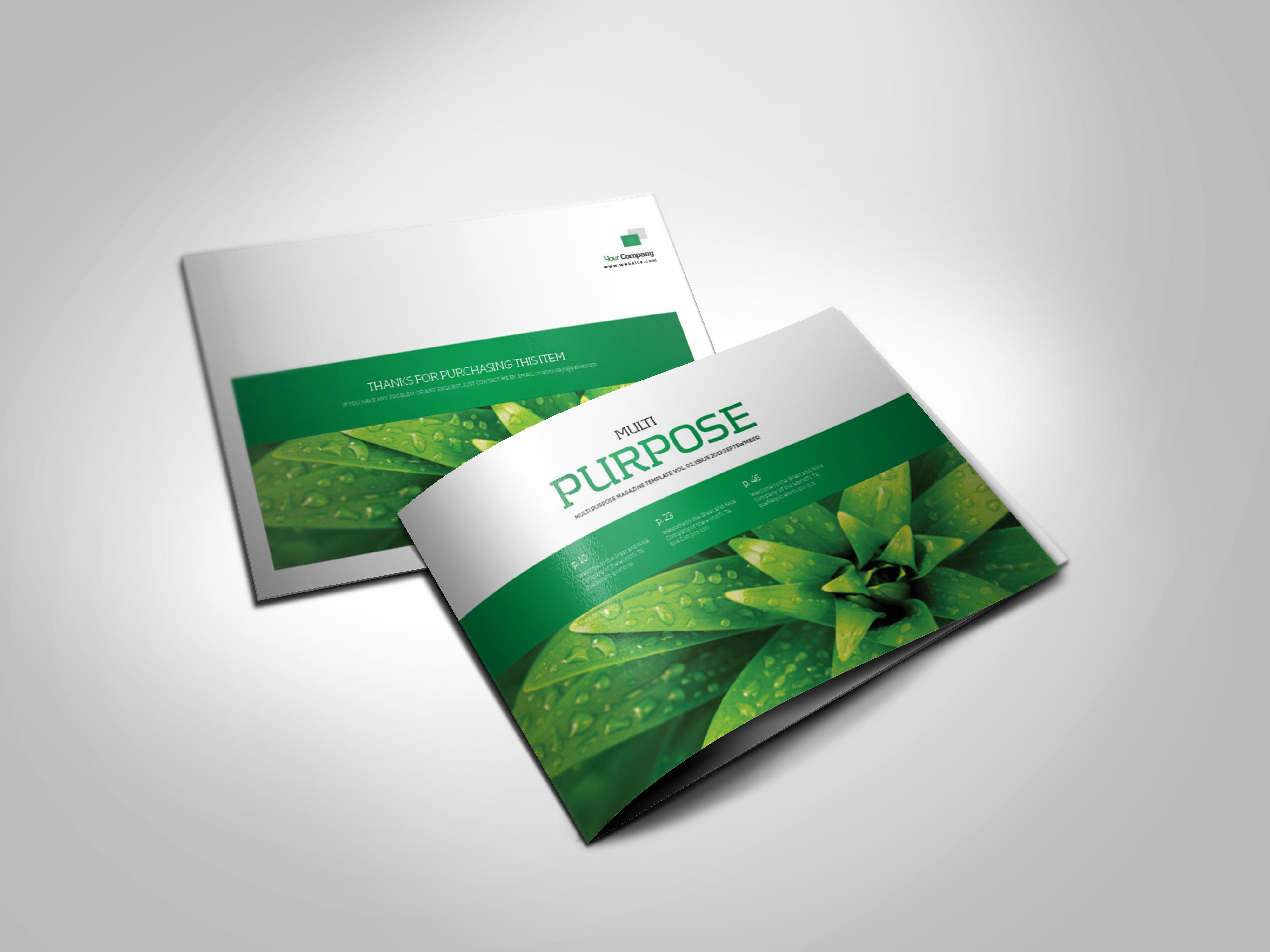 a5 landscape template v02 magazine templates creative market