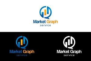Market Graph Logo Template