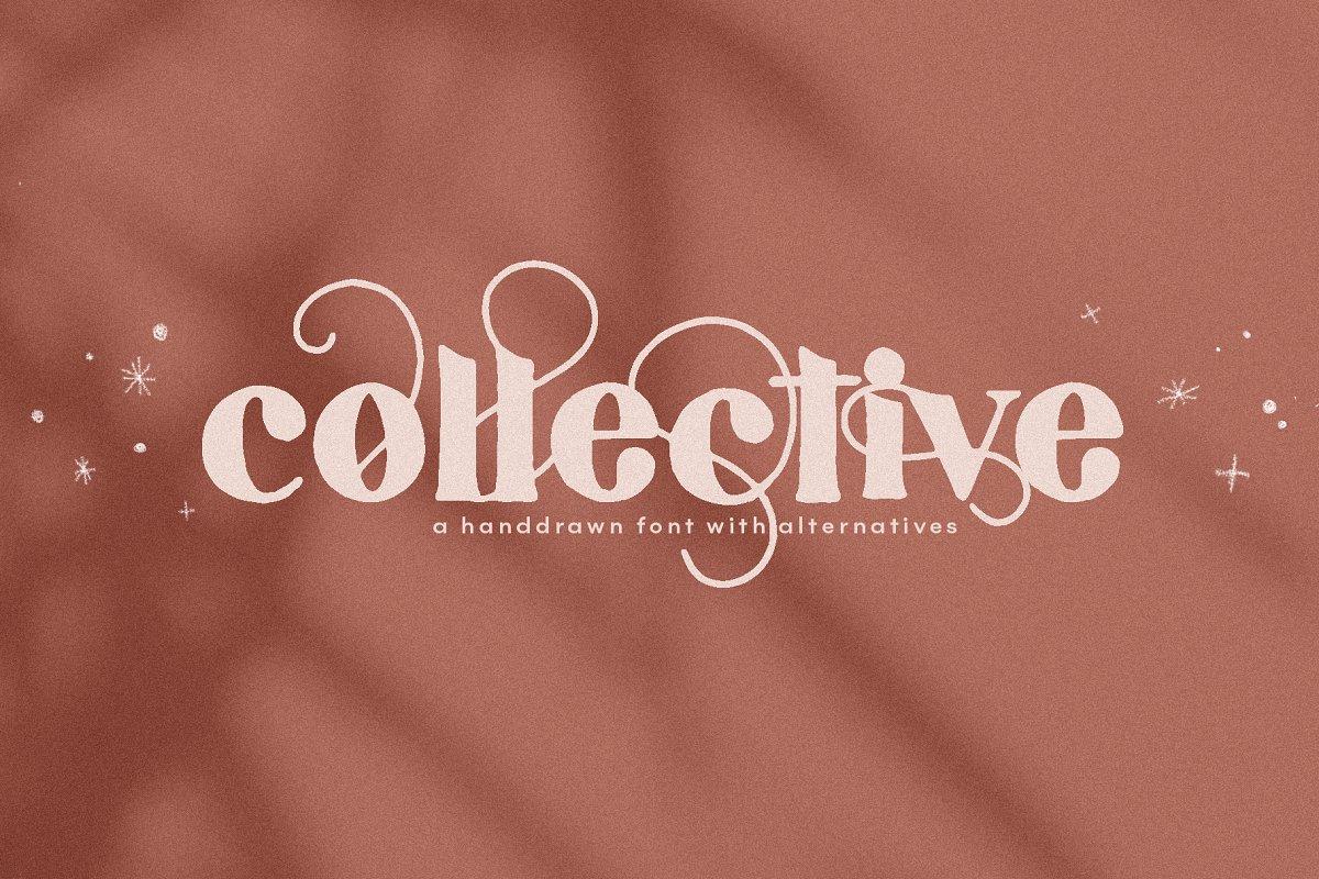 Collective - Handdrawn Serif Font