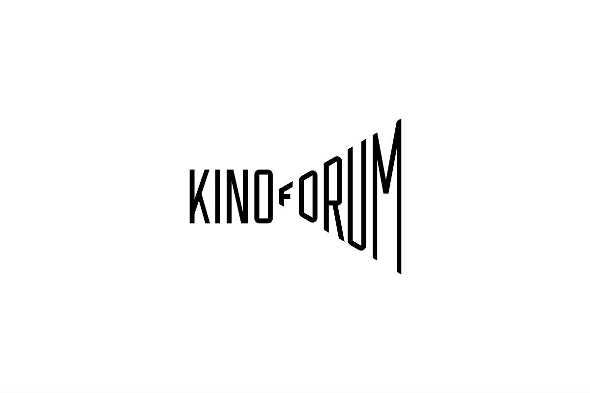 Cinema forum logo template