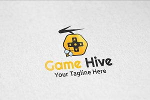 Game Hive - Logo Template