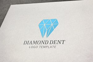 Diamond Dentistry Logo Template