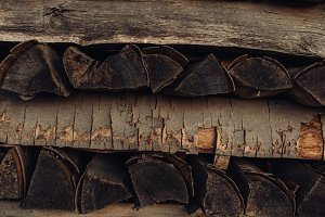 A Pile of Firewood #09