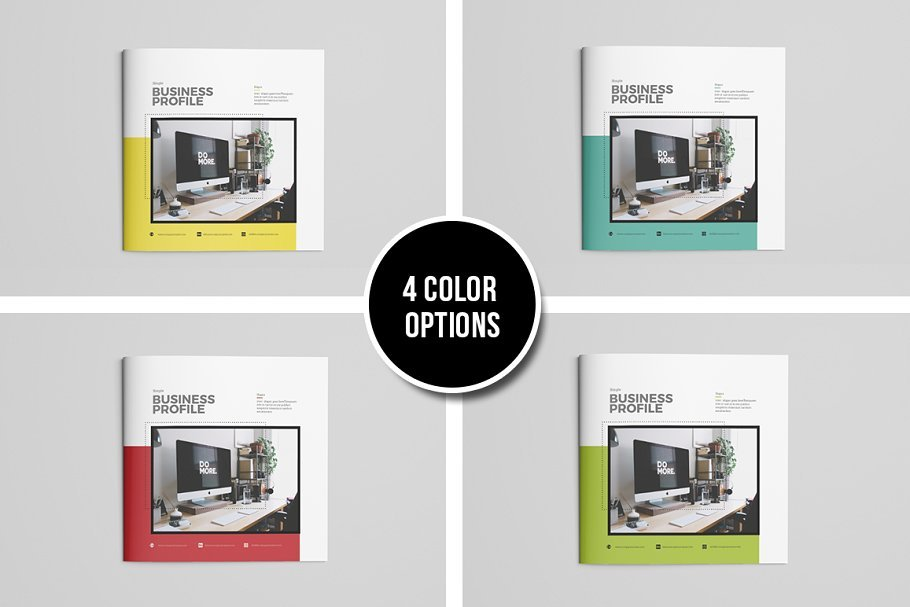 Simple Brochure Template in Brochure Templates - product preview 8