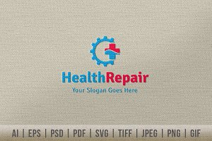 Health Repair Logo