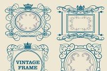 Decorative elements, frame