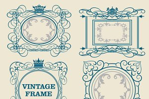 Decorative elements, frame