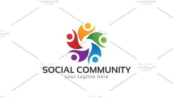Social Community Logo Template
