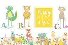 Animal ABC Cute Set