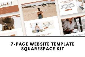 Squarespace Template Kit: Pursue