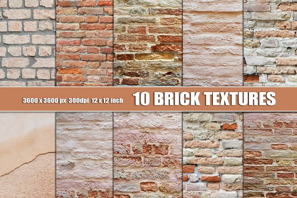 Brick Wall Texture Background White