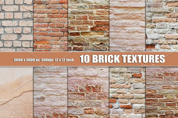 Brick Wall Texture Background White