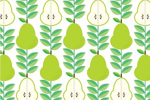 pear background vector