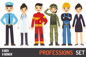 Professions set