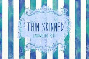 BSD Thin Skinned Font