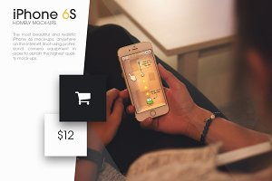iPhone 6S Homely Mock-Ups