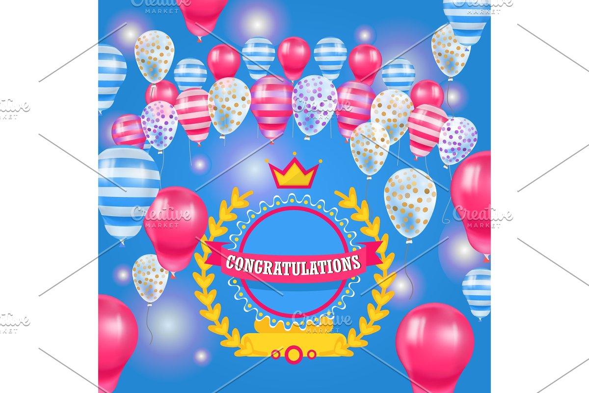 Happy Birthday baloons celebration