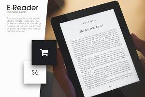 Ebook Reader Mock-Up Pack