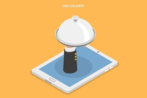 Dish delivery concept
