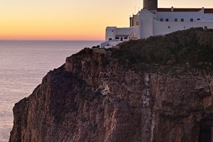 Lighthouse, Sagres, Portugal
