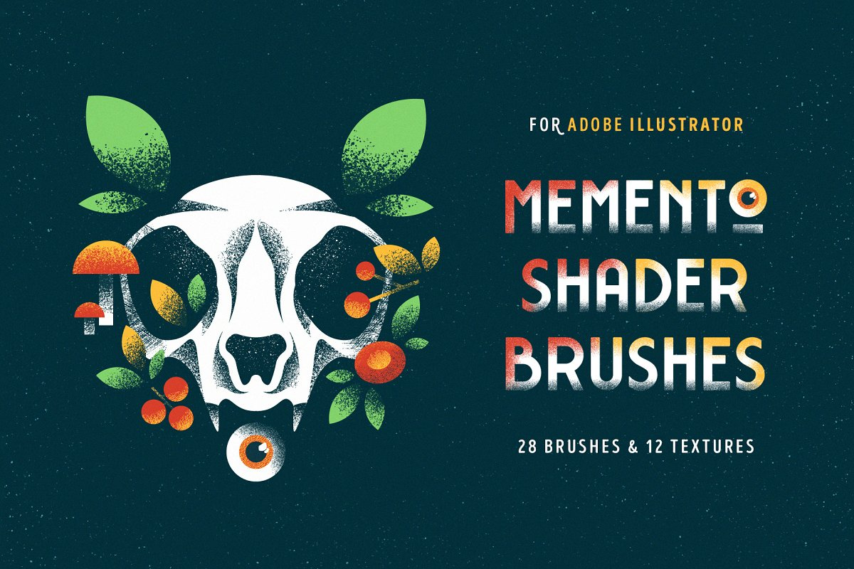 Shader Brushes for Illustrator ~ Illustrator Add-Ons